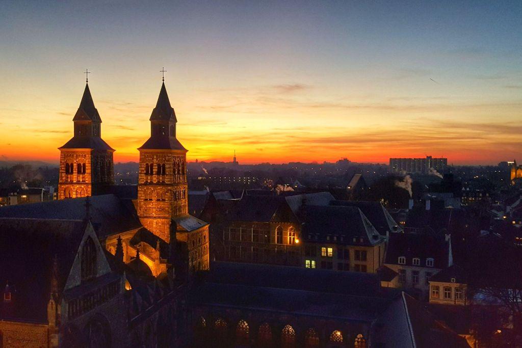 mooiste zonsondergangen - Maastricht