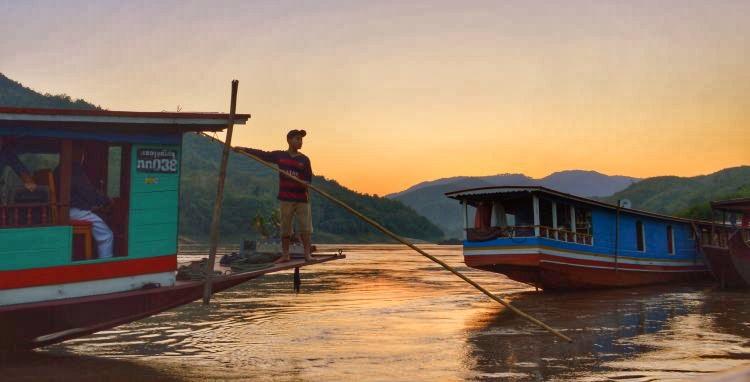 mooiste zonsondergangen - laos