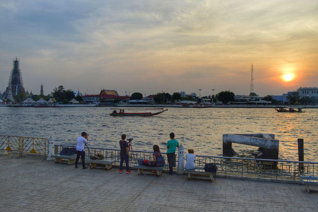 mooiste zonsondergangen - Bangkok - Thailand