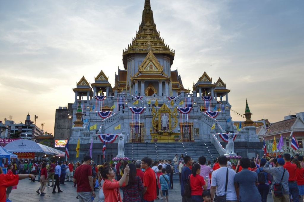 chinees nieuwjaar vieren in Bangkok