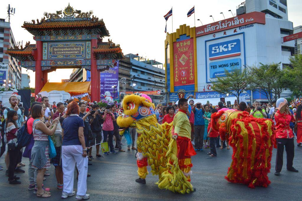 chinees nieuwjaar bangkok - chinatown