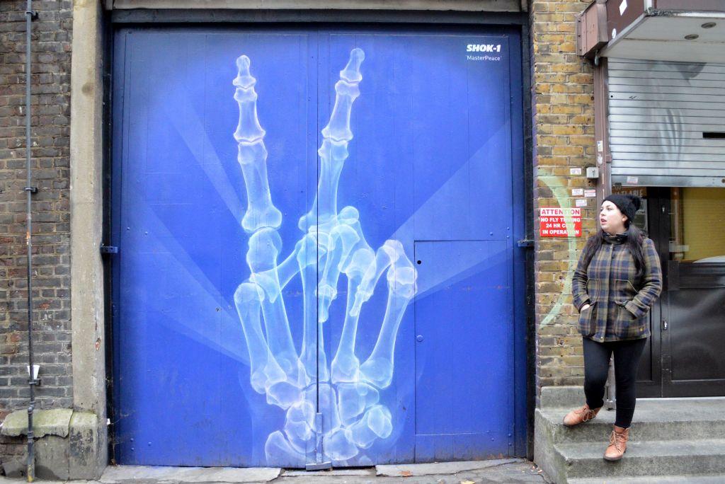 street art tour londen