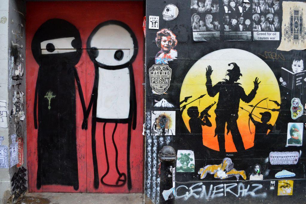 shoreditch streetart Otto Schade
