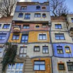 De kleurrijke architectuur van Hundertwasser in Wenen