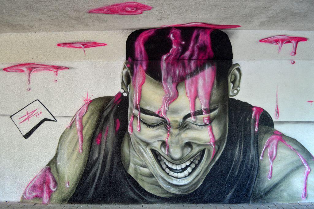 streetart ede keesomtunnel
