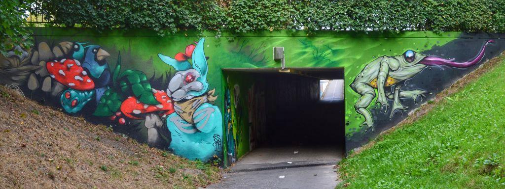 bospoorttunnel ede
