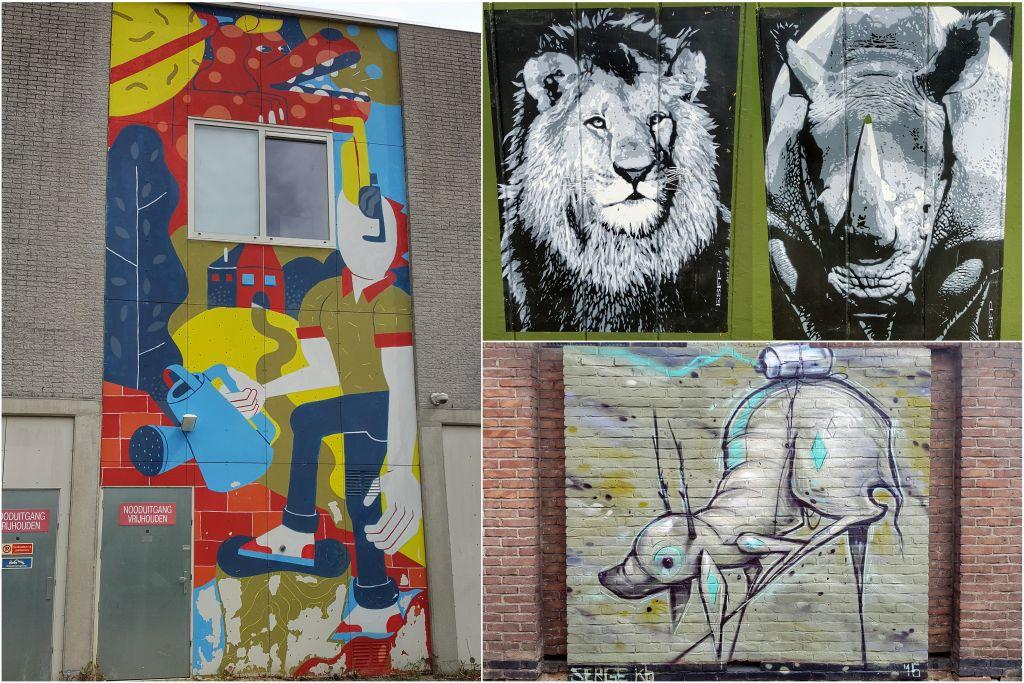 muurschilderingen ede