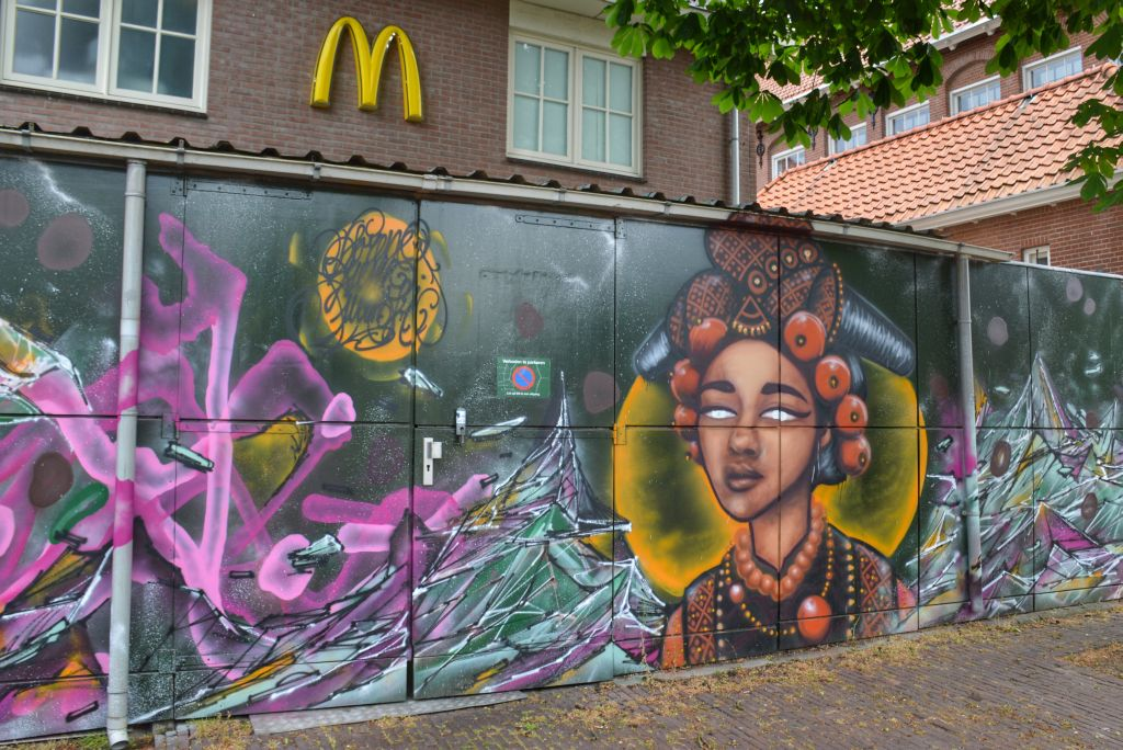 straatkunst ede