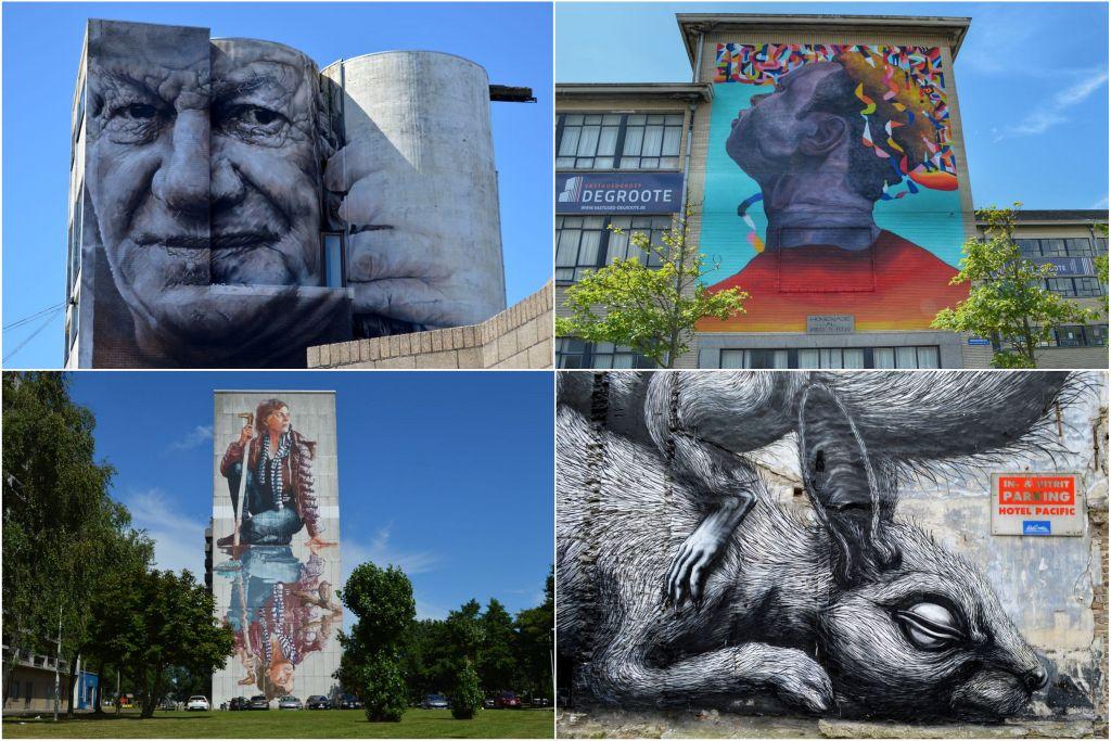muurschilderingen Oostende streetart