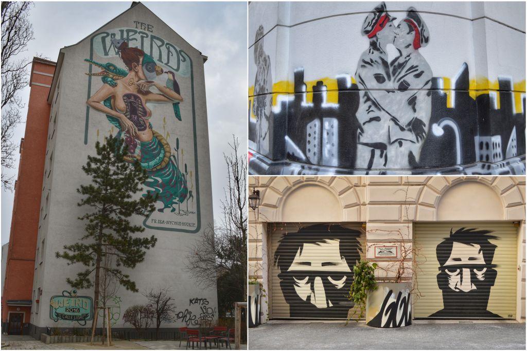 Mariahilf Wenen streetart