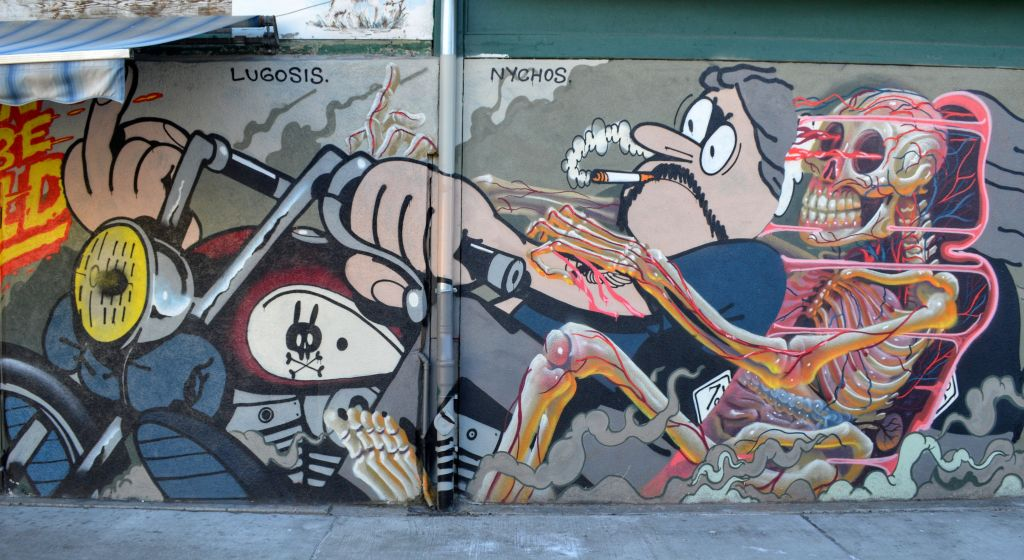 Naschmarkt vienna streetart