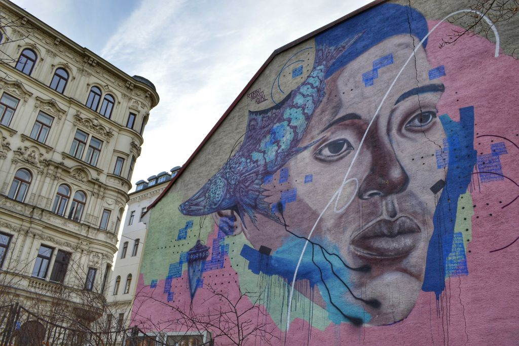 neubau wenen streetart