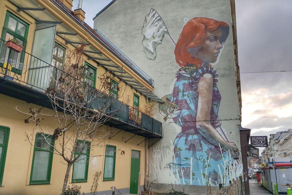 streetart brunnenmarkt wien