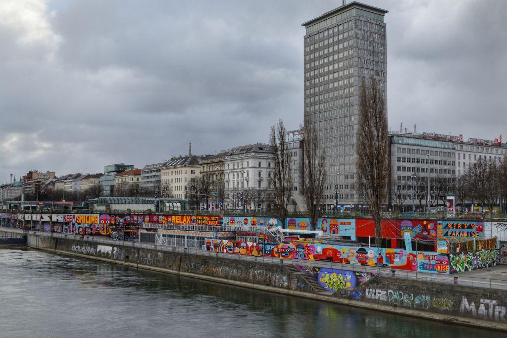 donaukanaal wenen streetart
