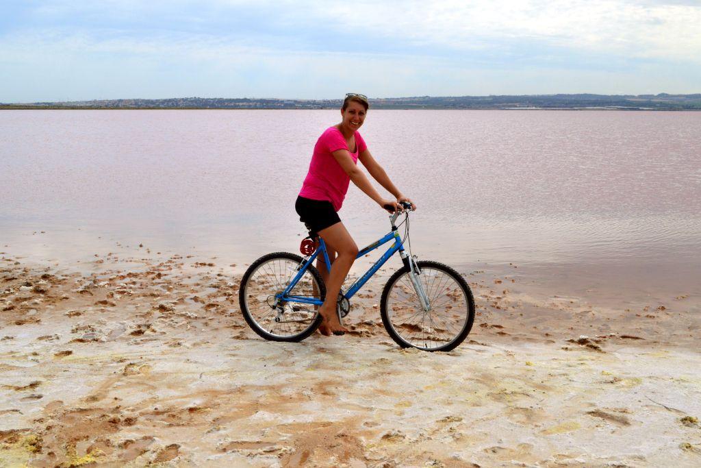 doen aan Costa Blanca - roze zoutmeer