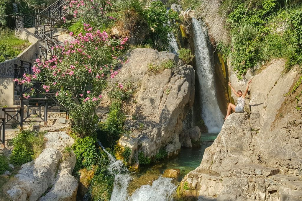 doen aan de costa blanca - algar watervallen