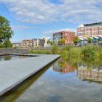 Bijzondere architectuur in de Enschedese wijk Roombeek