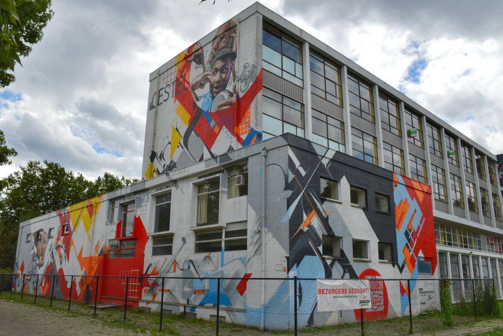 Streetart Gestel Eindhoven