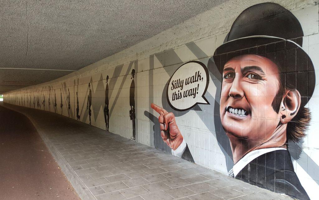 Silly Walks tunnel eindhoven