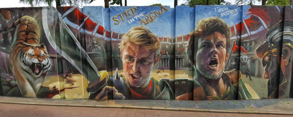 Streetart de Berenkuil Eindhoven