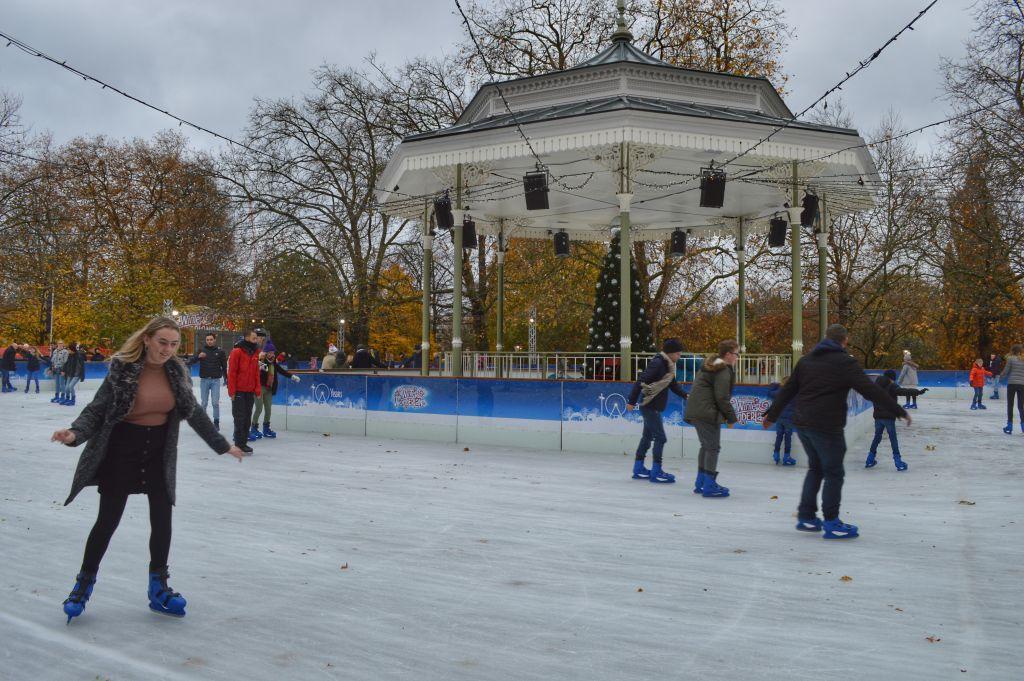 schaatsbaan winter wonderland