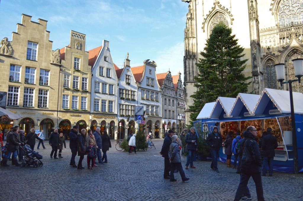 kerstmarkten Münster
