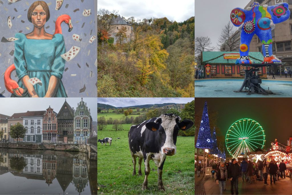 Collage Mechelen, Duisburg en de Ardennen
