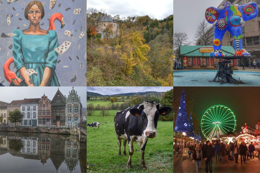 Collage Mechelen, Duisburg en de Ardennen