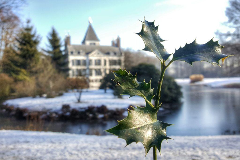 Kasteel Renswoude in de sneeuw