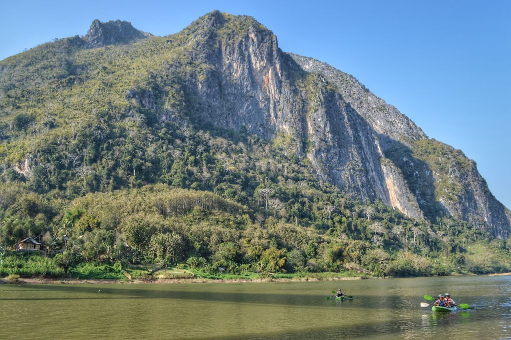 rivier Nong Khiaw