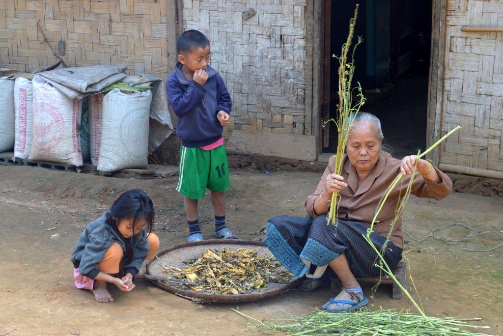 dorpje omgeving Nong Khiaw
