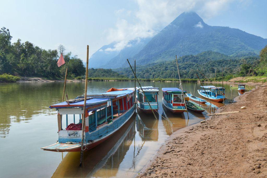 Nam Ou rivier Laos