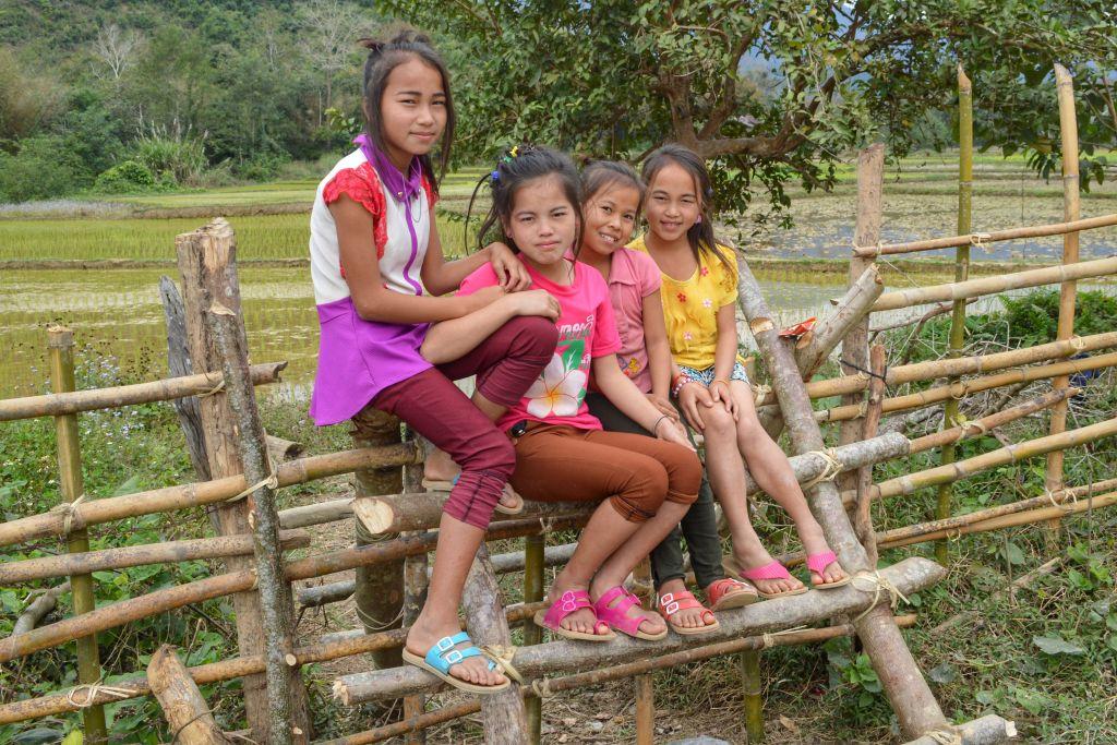 Kinderen Nong Khiaw Laos