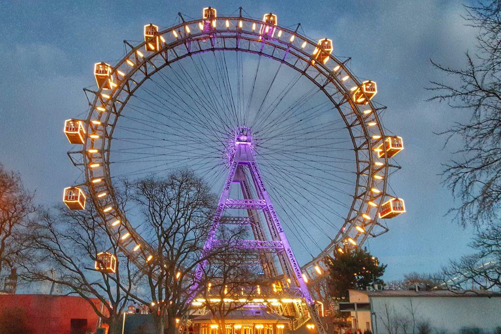 Wiener Riesenrad Prater - Wenen