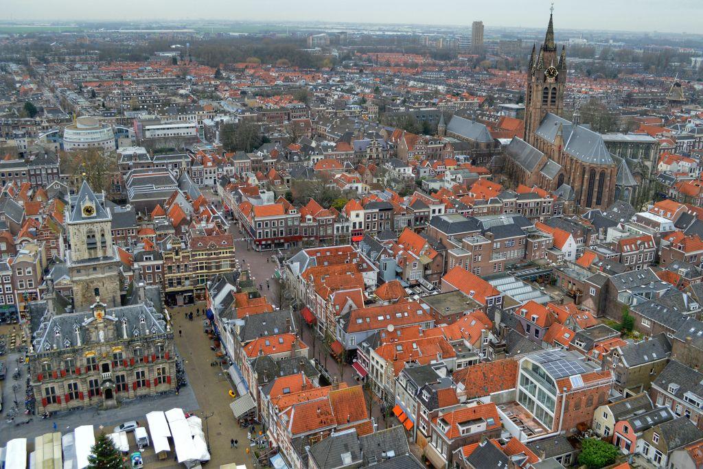 Uitzicht Delft