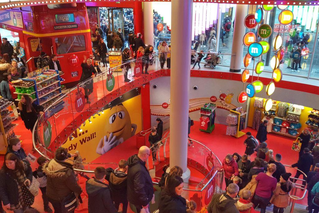 M&M's winkel Londen