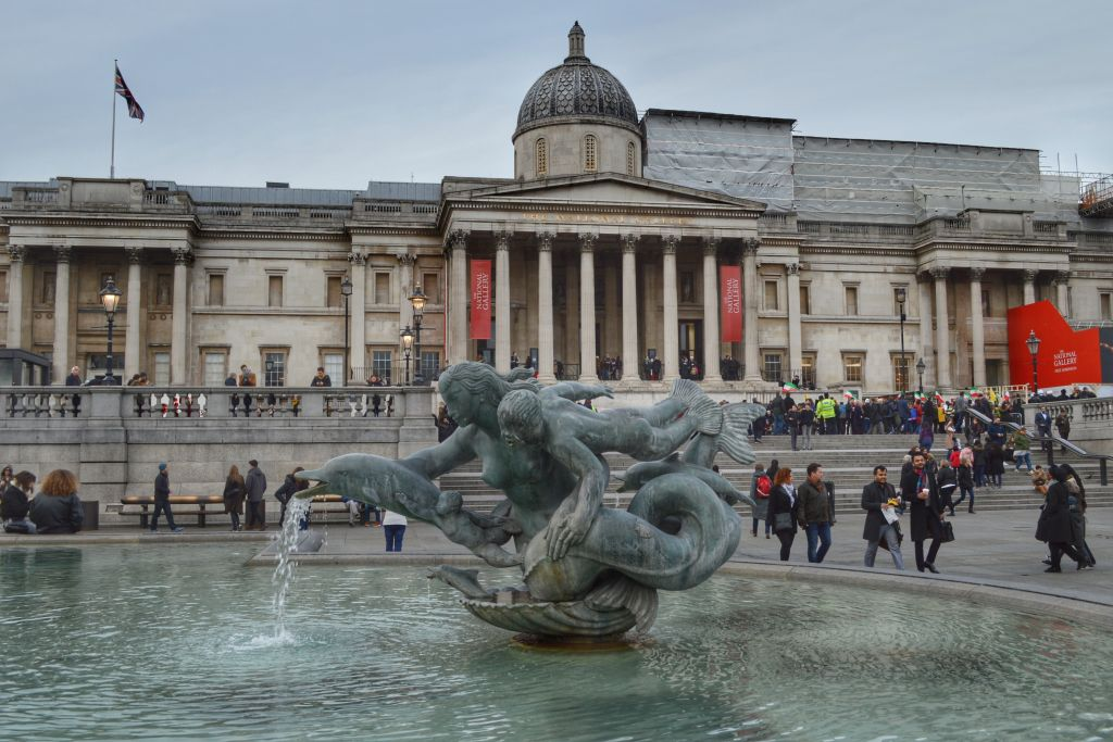 National Gallery Londen - Trafalgar Square