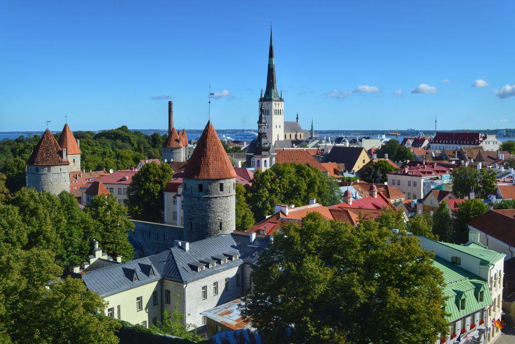 Toompeas heuvel Tallinn