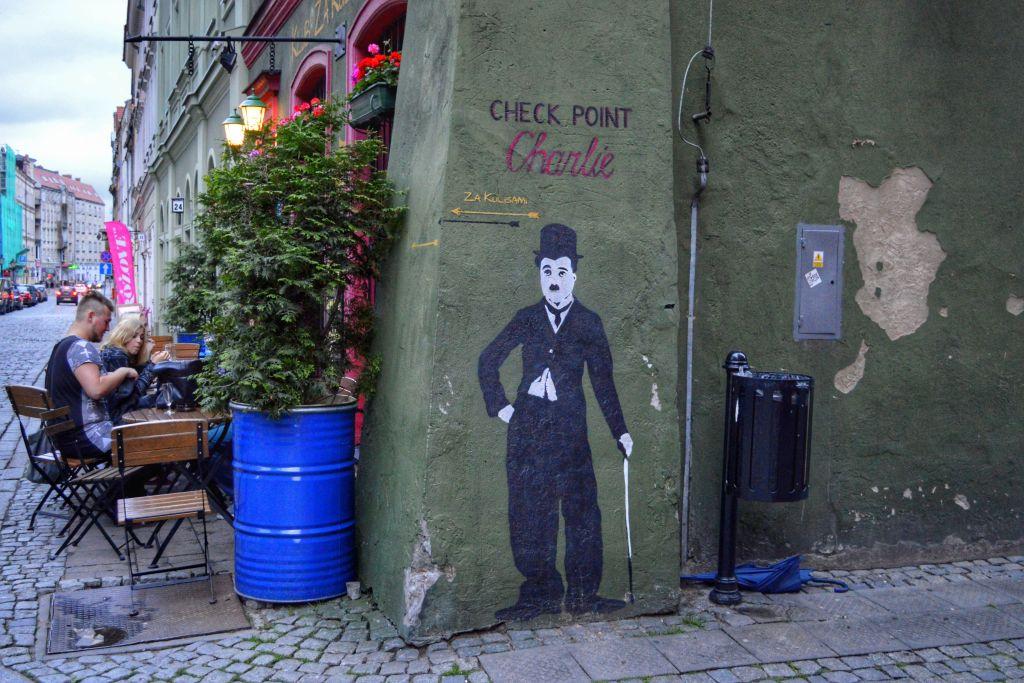 Streetart Poznan Polen