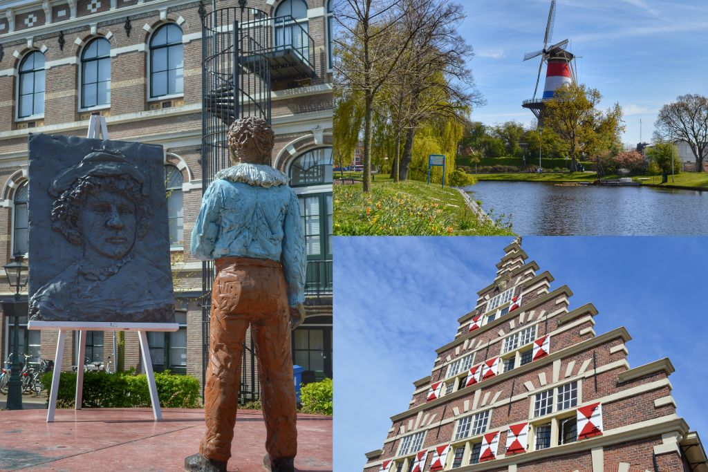 Rembrandtplaats Leiden