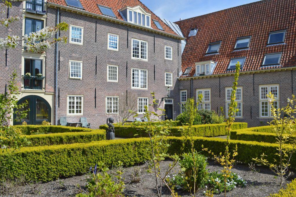 Hofjes in Leiden