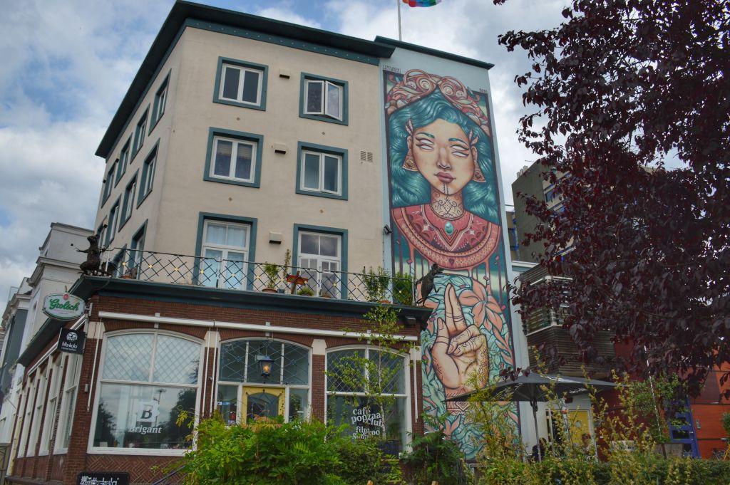 Muurschildering Arnhem