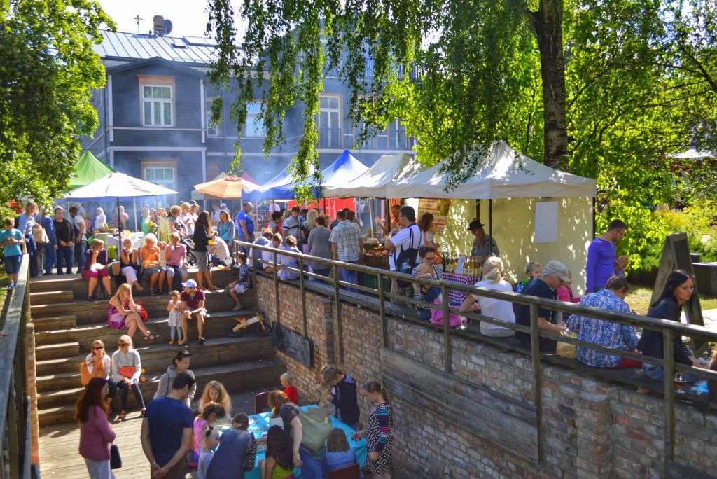 Saturday Market Riga