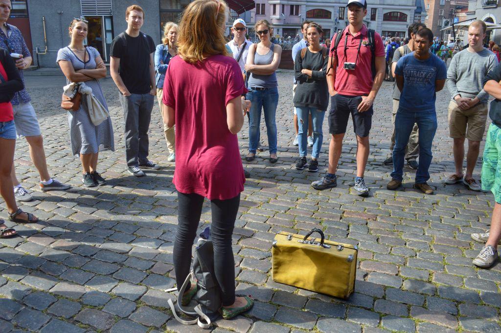 Free walking tour Riga