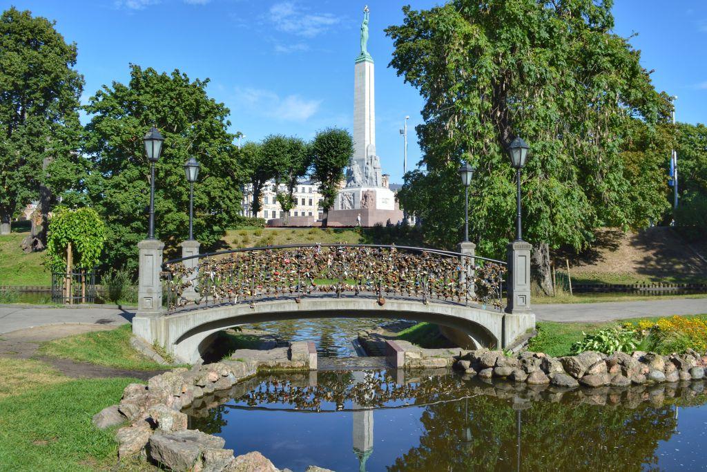 Stadsgracht + park Riga