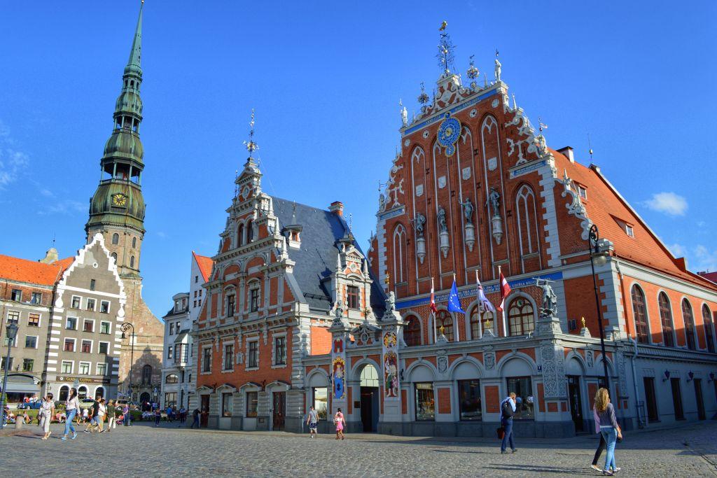 Raadhuisplein Riga