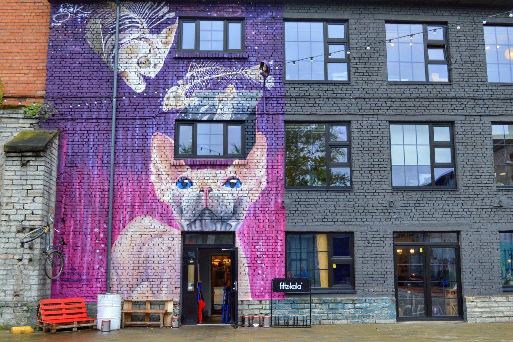Telleskivi creative city Tallinn
