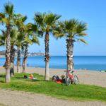 Fietsen langs de stranden van Málaga