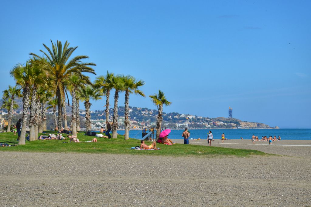 Playa la Caleta Malaga