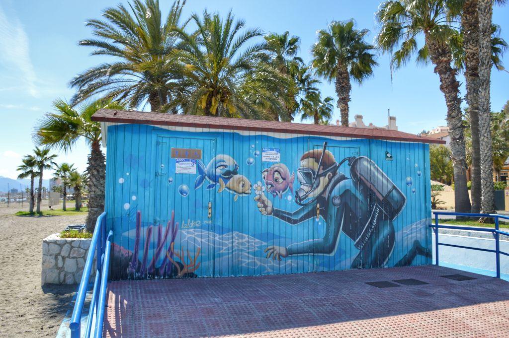 strandhuisjes Malaga